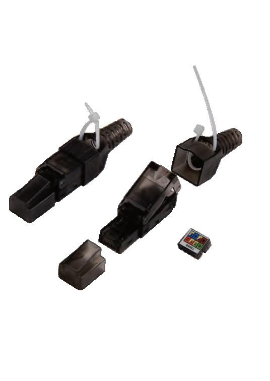 RJ45-6U-TOL-W RJ45-5U-TOL-W toolless plug Rj45 7