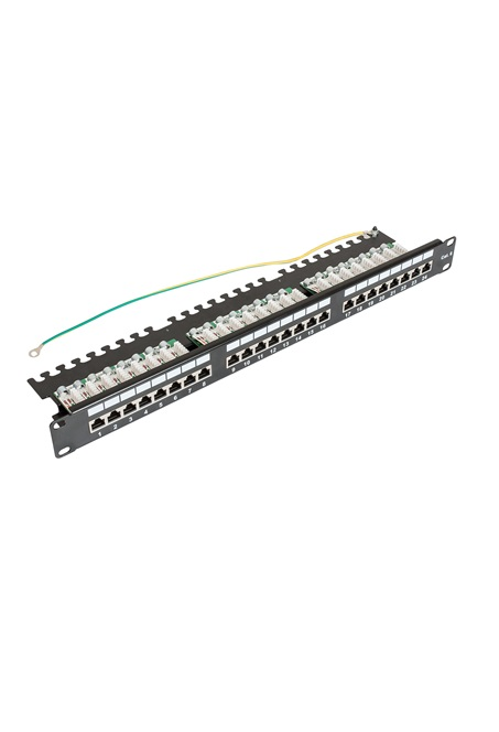 ccas-pa6-24stp-0-2 securitynet patch panel STP 24 port screened 2