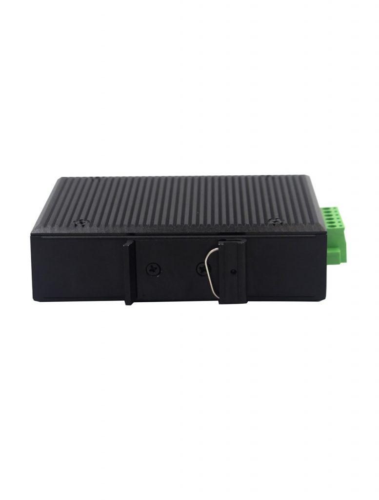 Industrial media converter SFP port 10/100/1000 pramoninis keitiklis komutatorius